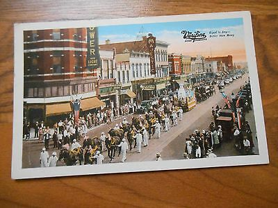 Old Vintage Postcard Verifine Food Products Advertising Sheboygan Wis. Parade