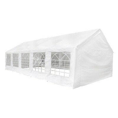 White 5x10m Outdoor Gazebo Party Wedding Tent Event Canopy Marquee Pavilion