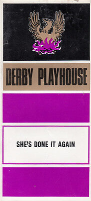 She's Done It Again Michael of Jon Pertwee The Saint 70s Derby Theatre Programme