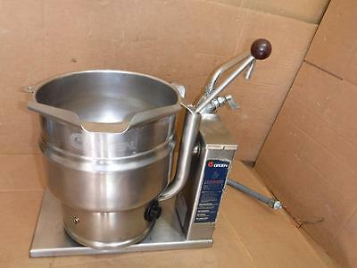 Greon Steam Kettle Model Tdb/6-10 With Side Faucet