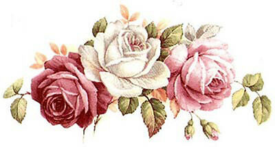 So PReTTy..BeauTiFuL FLoRaL SWaGs & BuDs ShaBby WaTerSLiDe DeCALs