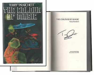 The Colour of Magic Facsimile Limited Edition Signed Terry Pratchett 2004 NM