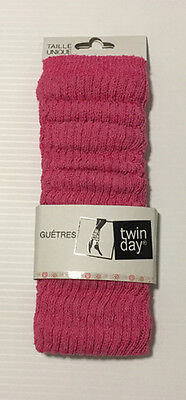 1 Pair Women Assorted Solid Color Cotton Leg Warmers