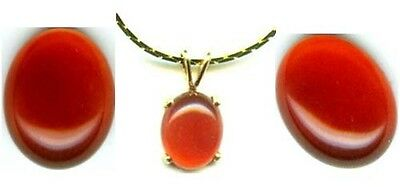 "18thC Antique 2ct+ Carnelian Ancient Islamic Mohammad's Mecca ""Evil Eye"" Stone"