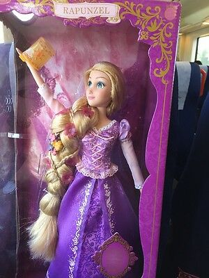Disney Rapunzel Tangled Deluxe Feature Doll Singing Light Up 17""