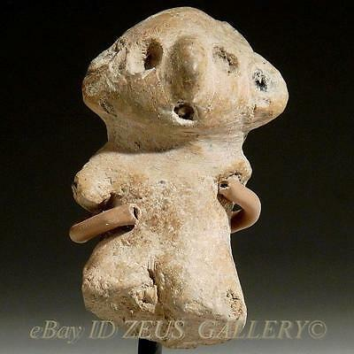 Pre Columbian Colima / Nayarit Pottery Infant Child Pre Classic 200 BC Mexico