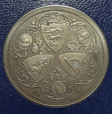 1984 Hong Kong Fantasy Pattern Proof Coin Queen Victoria