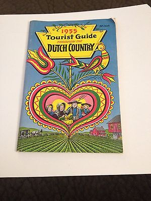 1955 Tourist Guide Through The Dutch Country Travel Booklet Book