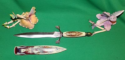 Sorceress Knife, High Priestess Knife, Wicca Witch Knife, Dungeons & Dragons