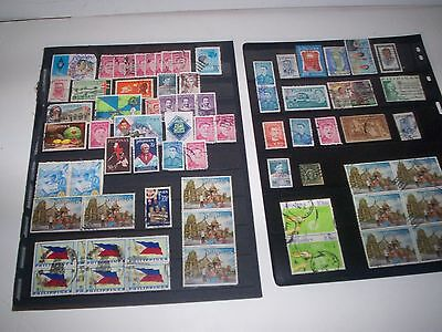Fantastic LOT of Philippines Stamps Great Value SEPT29Phil