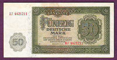 Germany 50 Deutsche Mark 1948  P. 14 aVF Note