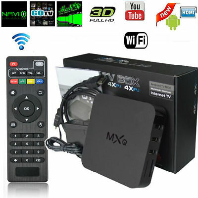 MXQ Pro 4K S905 Smart TV Box 64Bit 2.0GHz Quad Core Android 5.1 1G+8G XBMC Sport