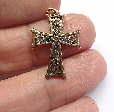 Greek Orthodox Cross Pendant Ecumenical Patriarch Bartholomew  Free Shipping