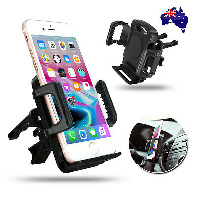Air Vent Car Mount Mobile Phone Holder Universal 360 For GPS iPhone Samsung