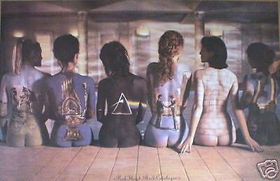 """PINK FLOYD """"BACK CATALOGUE"""" U.K. COMMERCIAL POSTER - David Gilmour, Roger Waters"""