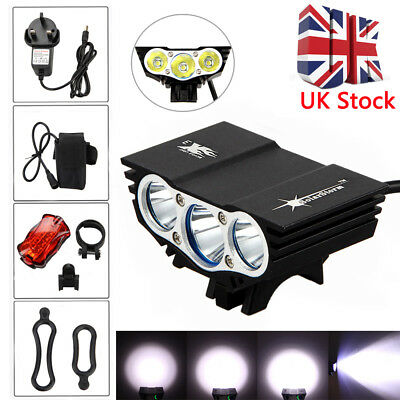 Solarstorm X3 T6 15000Lm Mountain Cycle Bicycle Light Bike Front Lamp Torch UK