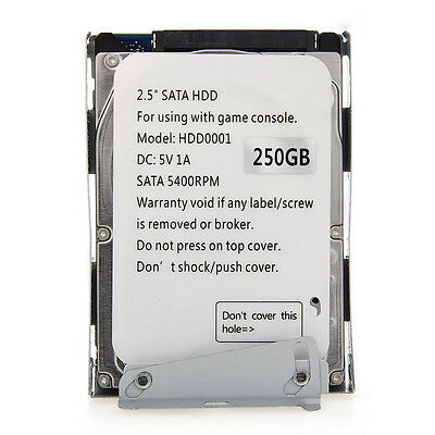 Disque Dur 250GO/250GB HDD + Support Fixation pour PS3 Playstation3 Video Games