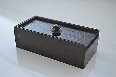 A beautiful quality Victorian small rosewood box sliding top box circa.1840