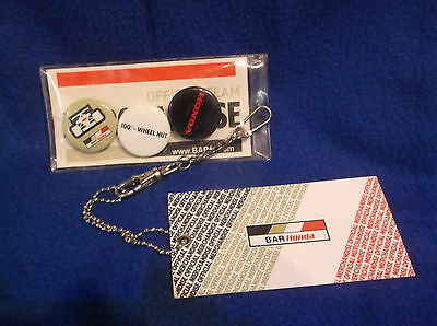 F1 Bar Honda Official Badges....new In Packet