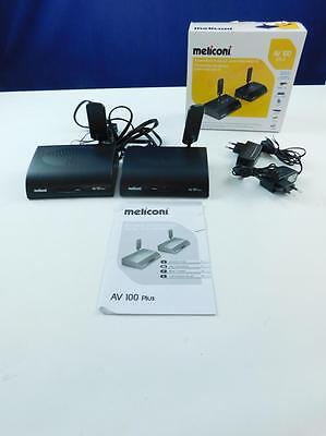 Meliconi 880022 - Wireless Audio Video Sender 58Ghz, grau