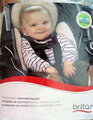 Britax Infant Head & Body Support Pillow (grey)