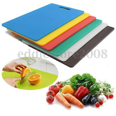 """1/3"""" Thick Kitchen Large Cutting Board Cutting Meat Fruit Chopping Block Tools"""