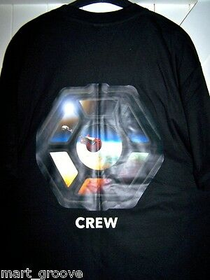 Official ELO Crew T-shirt NEW 2016 Alone In The Universe tour L Large tshirt