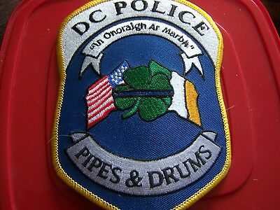 Washington DC Police Pipes & Drums patch