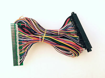 Jamma Extender Harness for JAMMA boards FULLY LOADED ALL 56 PINS