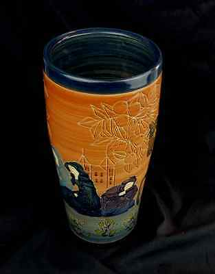Limited Edition Sally Tuffin Poet of Britaine Vase