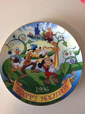 Disney's Christmas  Collection Plate 1996