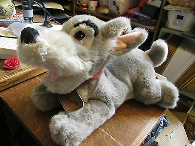 """Disney Lady And The Tramp 'Tramp' Plush Character, 12"""" long."""
