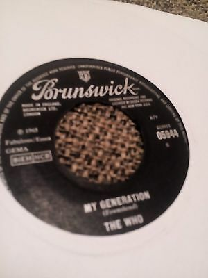 """The Who - My Generation 7"""" single VG"""