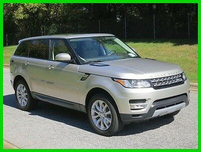 2015 Land Rover Range Rover Sport HSE 2015 HSE Used 3L V6 24V Automatic 4WD SUV Premium