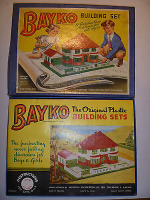 Vintage Bayko Construction Set Boxed But Believed Incomplete?