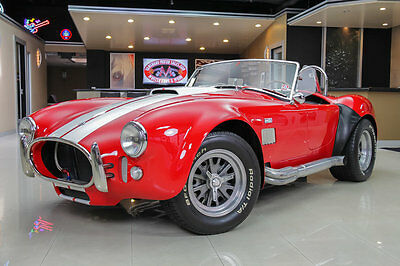 1965 Shelby Cobra  uperformance! Ford Racing Crate 351ci Windsor V8, TKO 5-Speed Manual, Low Miles