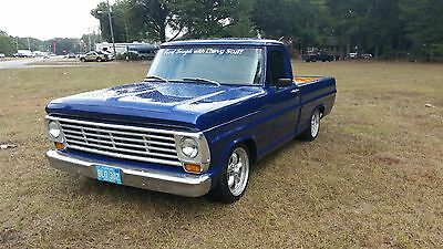 1967 Ford F-100 CUSTOM CAB 1967 ford truck 5.3 LS powered 4l60E lincoln front suspension 8.8 posi rear end