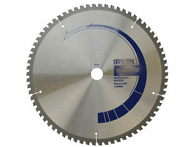 IRWIN 10506843 355mm x 30 x 70 Teeth Circular Saw Blade Multicut Wood & Metal