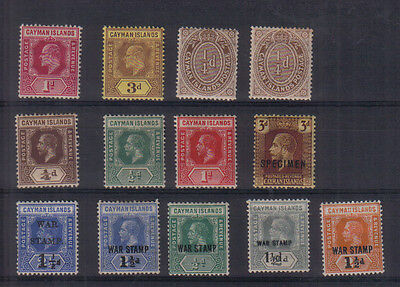 Cayman Islands Early mint collection