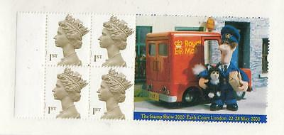 Gb Sg 1668 Postman Pat Booklet Pane From Booklet