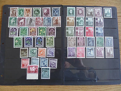 Austria 1945-48 Mint collection - mainly unmounted