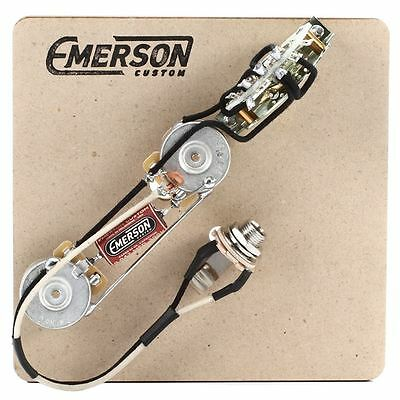 Emerson Custom Tele 3-Way Prewired Kit - 500K pots
