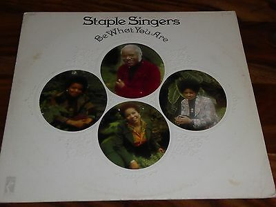"The Staple Singers ""be What You Are"" 1973  Stax Vinyl Album Motown Northern Soul"