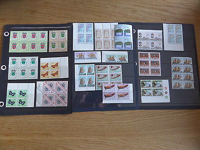 Mozambique Unmounted mint blocks and pairs