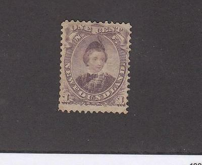 NEWFOUNDLAND # 32 MNG 1ct EDWARD PRINCE OF WALES CAT VALUE $40