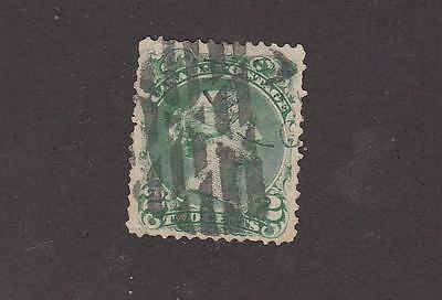CANADA 24 FVF-2cts LARGE QUEEN WITH BASKET WEAVE CANCEL CAT VALUE $50++