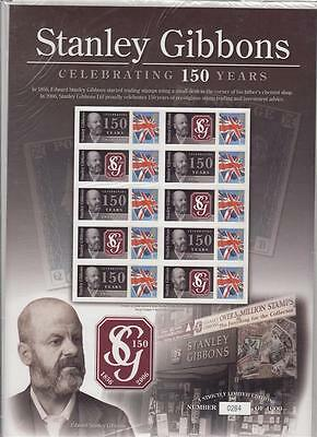 GB 2006 SMILERS Stanley Gibbons 150th Anniversary Benham Limited Edition