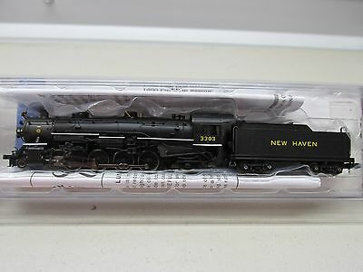 *spectrum ~ New Haven 4-8-2 Light Mountain Steam Locomotive #3303 ~ N Scale