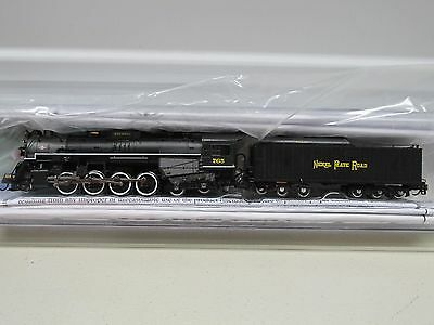 *bachmann ~ Nickel Plate 2-8-4 Berkshire Steam Locomotive #765 ~ N Scale