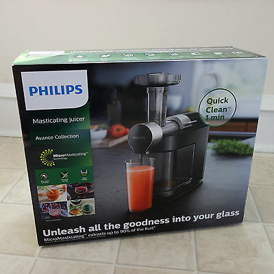 Philips Masticating Juicer HR1895/74 *BRAND NEW*